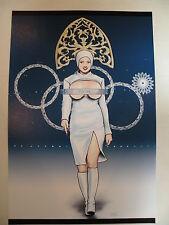 "Sochi winter olympics 2014 opening ceremony parady adult poster print 11"" x 17"""