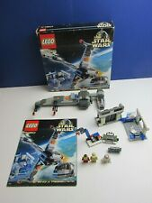 BOXED lego 7180 complete STAR WARS B WING FIGHTER rebel control center VINTAGE