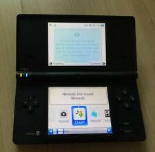 Nintendo DSi Handheld Console Black With Stylus WORKS TESTED + BONUS