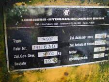 Liebherr A902 Verkaufe in Teile  Motor- Reifen  Pumpen usw