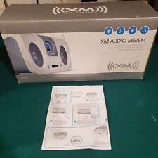 Brand New Xm Audio System F5X007 White Satellite Radio Boombox