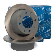 SEBRO Bremsscheiben für PORSCHE 914 1.7 80 PS + 1.8 86 PS + 2.0 100 PS hinten