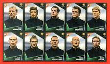 PANINI EC EURO 2004  - 10 ministickers DANMARK team EXTRASTICKERS - copy