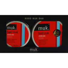 Hard Muk Hair Wax Value Gift Pack- 1x 95g & 1x 50g Brutal Hold Clay