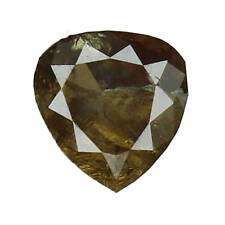 Natural Loose Diamond Pear I1 Clarity Fancy Color 5.26X5.00X2.70MM 0.53 Ct L4452