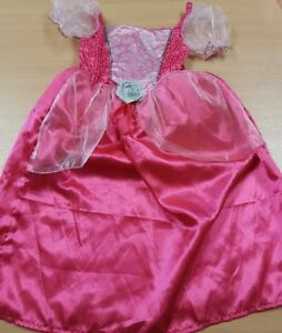 Children's Pink Princess Fancy Dress Costume with Tiara Aged 8-10 Years