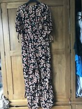 Topshop Floral Jumpsuit Worn Once
