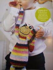 CROCHET PATTERN Cuddle Monkey Striped Toy Animal 48cm Childrens Doll PATTERN