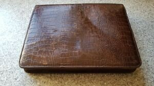 Vintage Leather Writing Case