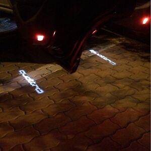 QUATTRO Led Door Light Laser Projector Welcome Logo Emblem HD Kit For AUDI 2PCS