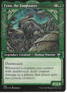 Deathtouch Infect (Fynn): Custom Magic MTG Commander EDH 100 Card Deck (Green)