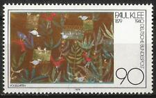 "Germany 1979 MNH - Art - Paul Klee ""Bird Garden"" ""Vogelgarten"" Aquarelle"