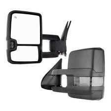 14-17 Silverado Sierra 1500~3500 HD Left Power Manual Telescoping Towing Mirror