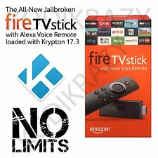 AMAZON FIRE TV STICK QUADCORE W/17.3 NO LIMITS BUILD! THIS HAS IT ALL!