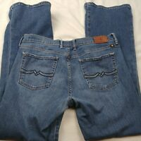 Lucky Brand Womens Shelby Sweet and Low Denim Stretch Jeans Size 8 / 29