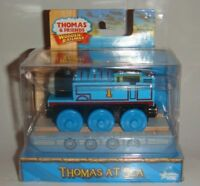 Thomas At Sea Misty Island Rescue Friends Wooden Railway New Blue #1 Train