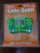 New Learning Resources Cash Bash Electronic Flash Card Educational Toys child