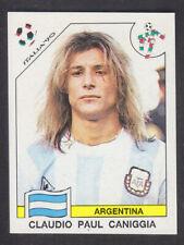 Panini - Italia 90 World Cup - # 129 Claudio Caniggia - Argentina