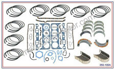 OMC 260  Kolbenring & Lager Ueberholung fuer V8  5.7L Motore