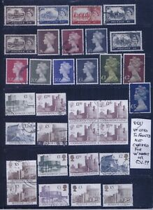 Great Britain Elizabeth II Large Machins & Castles VF Used Lot #853