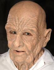 """Zagone Mask """"DOA"""" Bald Old Man Full Head Latex Character Mask"""