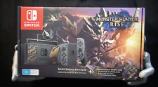 Monster Hunter Rise Limited Edition Nintendo Switch Console - 'The Masked Man'