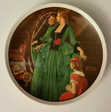 Norman Rockwell Mother's Day 1984 Grandma's Courting Dress Collector's Plate
