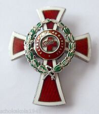 Österreich Rot Kreuz Offizierskreuz mit Kriegdekoration