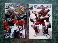 Transformers Armada 1 & 7 [LOT OF 2] NM (2002 Dreamwave Comics) Incentive Cover