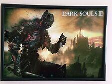DARK Souls 3 A4 260gsm incorniciato poster stampa