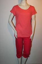 "Triumph Pyjama ""English Rose 169 PK"" Gr. 38 pink Hose knielang Loungewear"