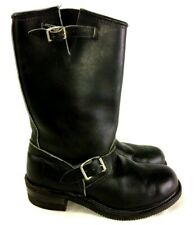 Carolina 46798 Men Sz 7R Black Engineer Harness Moto Boots 152-22