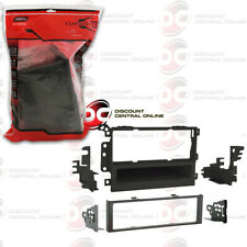 Black Metra 95-2009 Double DIN Installation Multi-Kit for Select 1995-2008 GM//Honda//Isuzu//Suzuki Vehicles