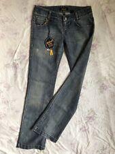 Killah by Miss Sixty Blue Jeans Stretch W30/L34 low waist regular fit straight