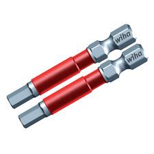 "Wiha 76873 3/16"" Hex Impact Power Bit, 2 pieces"