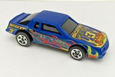 HOT WHEELS 1988 Chevy Stocker Track Aces Monte Carlo Blue 1/64 #3