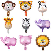Cute Animal Shape Baloons Kids Birthday Party Decor Helium Foil Balloon Reliable