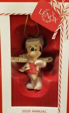 Annual Disney Minnie Skiing Lenox 2020 Christmas Ornament Nib