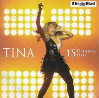 TINA TURNER<>TINA : 15 GREATEST HITS<>PROMOTIONAL CD from the MAIL ON SUNDAY ~~