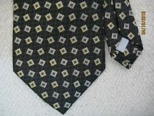 Burma Bibas-Men's 100% Silk Necktie-Multi Collar Geometric Abstract-USA