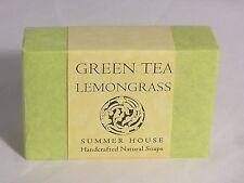 Summer House Handcrafted Natural Soap #Green Tea Lemongrass