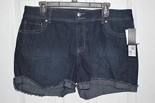 Daisy Fuentes Midnight Wash Simpky Denim Shorts - Size 4