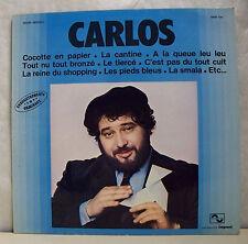 """33 tours CARLOS Disque Vinyle LP 12"""" COCOTTE EN PAPIER - IMPACT 6886700 F Rèduit"""