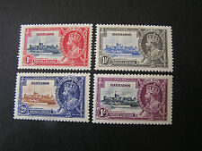 BARBADOS, SCOTT # 185-189(4) COMPLETE SET 1935 SILVER JUBILEE MVLH