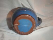 Souvenir Pottery Pitcher from Essex Canada Red Clay
