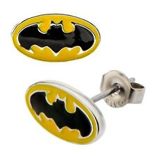 BATMAN LOGO Steel EARRINGS Inox / DC MIB