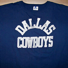 DALLAS COWBOYS / AMERICAN FOOTBALL / MADE IN USA / VINTAGE BLUE T-SHIRT SIZE XL