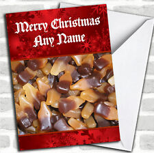 Cola Bottle Sweets Christmas Customised Card