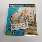 Vtg 1997 Beatrix Potter Peter Rabbit's Math Garden CD Rom Game & Activity Set