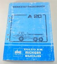 Manual de Taller Volvo Bm Autovolquete Dumper A20 Stand 09/1988